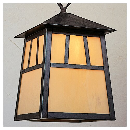 Arroyo Craftsman Raymond 1 Light Outdoor Hanging Lantern