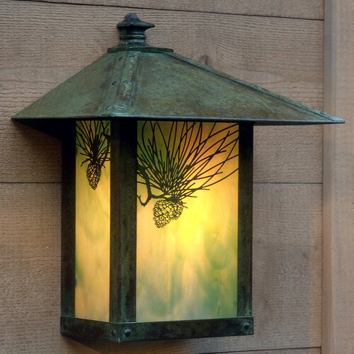 Arroyo Craftsman Evergreen 1 Light Outdoor Wall Sconce