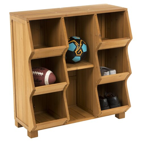 Atlantic Outdoor Storage 8 Compartment Cubby