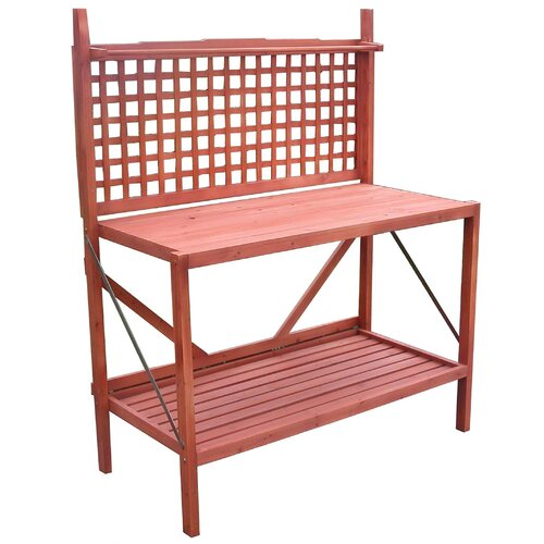 Atlantic Outdoor Wood Potting Bench