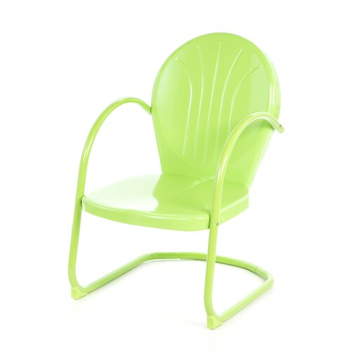 Atlantic Outdoor Metal Tulip Dining Arm Chair