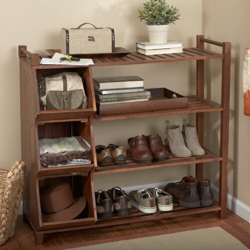 Outdoor Shoe Rack and Cubby