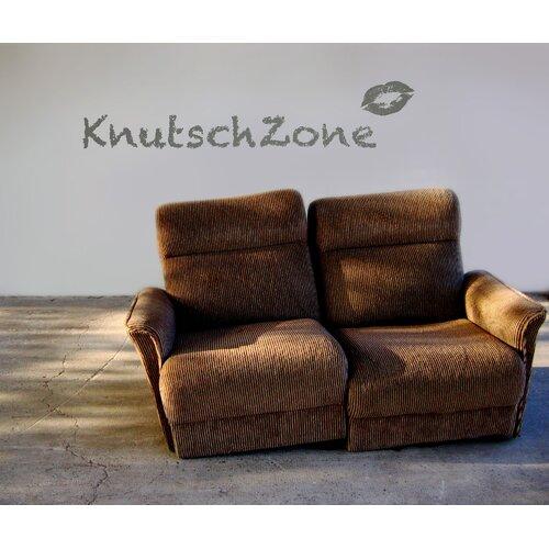 Komar 70 x 100cm Wandtattoo 'Knutschzone' - 70 x 100 cm