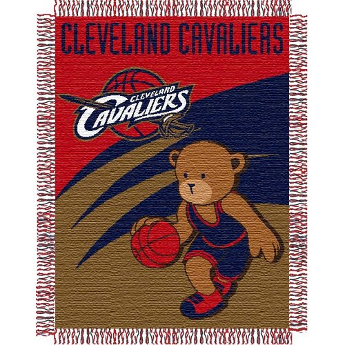 Northwest Co. NBA Baby Triple Woven Jacquard Throw
