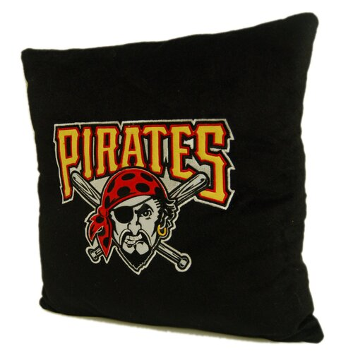 MLB Pittsburgh Pirates Square Pillow