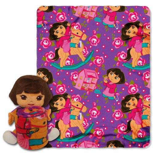 Northwest Co. Entertainment Dora the Explorer Polyester Fleece Throw