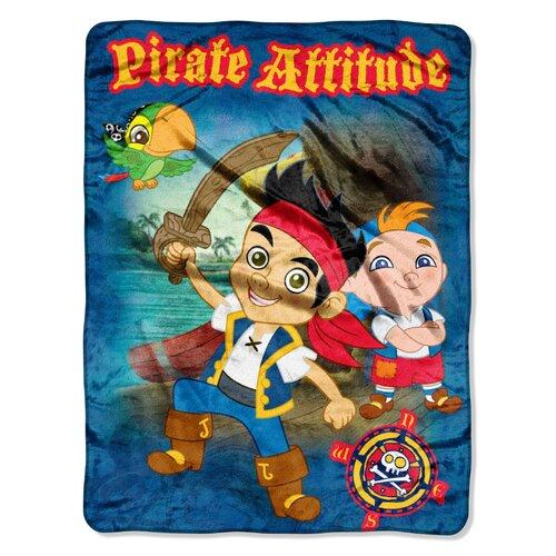 Jake and the Neverland Pirates Micro Raschel Throw