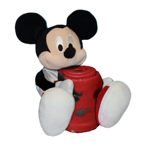 Northwest Co. NBA Mickey Mouse Fleece Throw