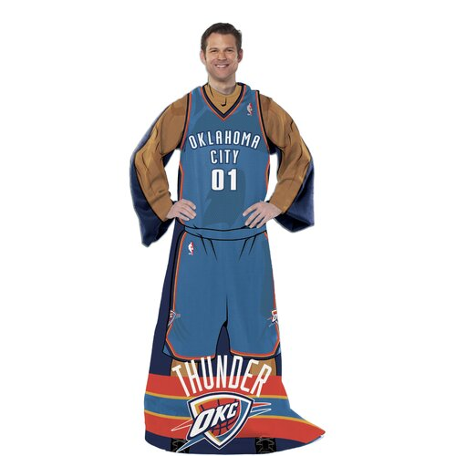 Northwest Co. NBA Oklahoma City Thunder Fleece Comfy Polyester Throw
