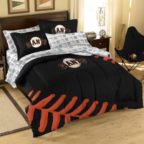Northwest Co. MLB San Francisco Giants Embroirdered Full Comforter Set
