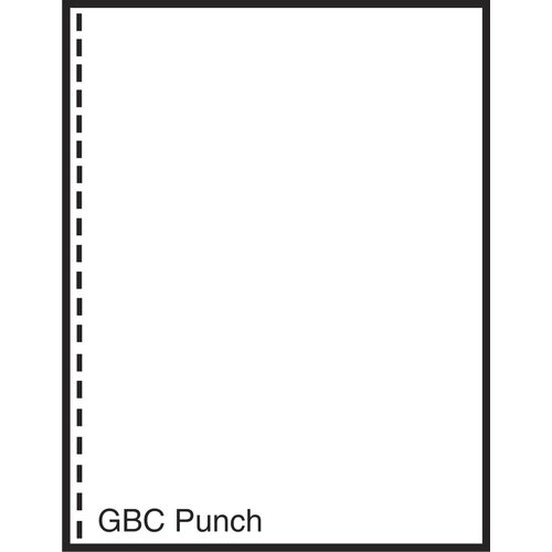"TST Impreso 8.5"" x 11"" Pre-Perfed and Punched Copy Paper with GBC Style (2500 Sheets)"