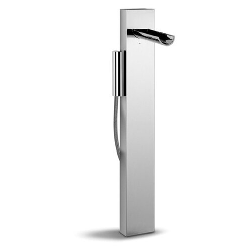 WS Bath Collections Aquaviva Free Standing Floor Mount Single Handle Volume Control Shower Panel
