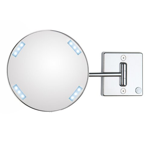 Mirror Pure Discololed Magnifying Cosmetic Wall Mirror