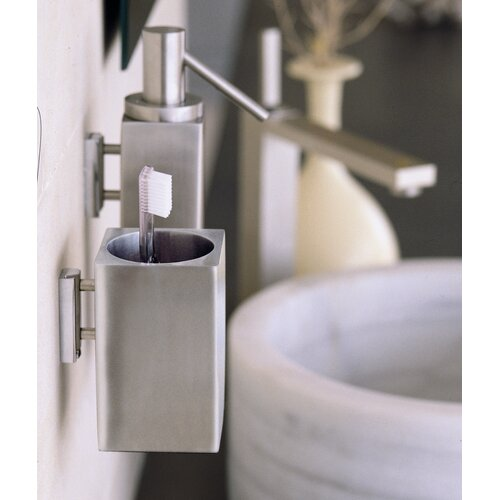 Metric Wall Mounted Toothbrush Holder