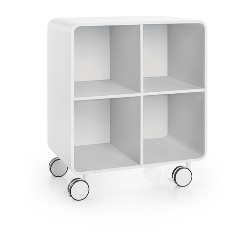 "WS Bath Collections Linea 23.6"" Bej Storage Unit"