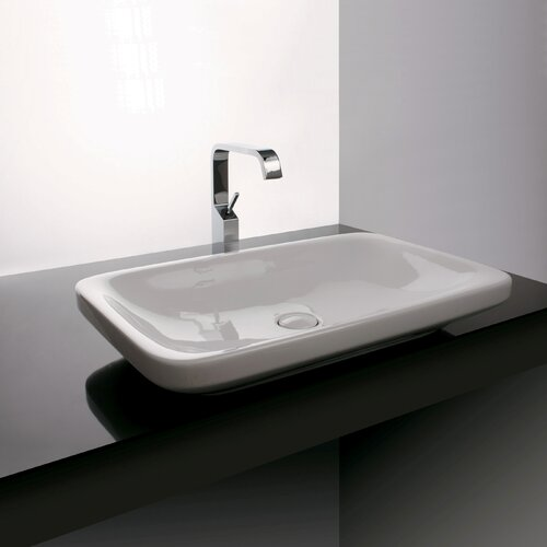 WS Bath Collections Ceramica Valdama Start Wall Mounted / Vessel Bathroom Sink