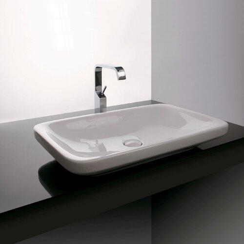 Ceramica Valdama Start Wall Mounted / Vessel Bathroom Sink