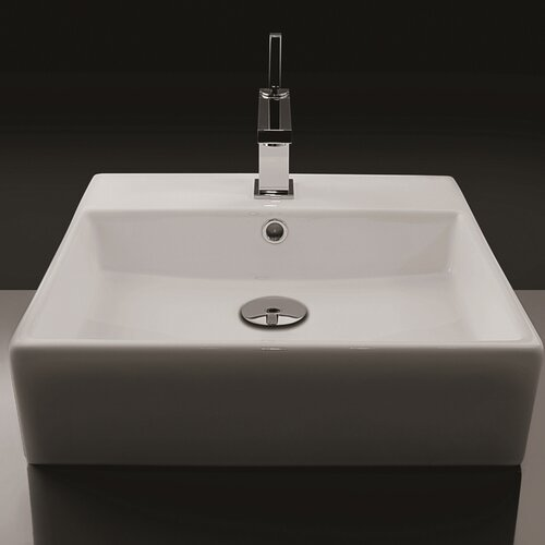 Ceramica Valdama Unlimited Wall Mount Bathroom Sink