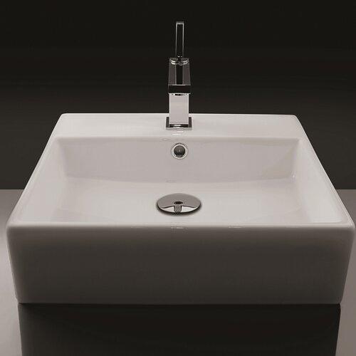 Ceramica Valdama Unlimited Wall Mount Bathroom Sink