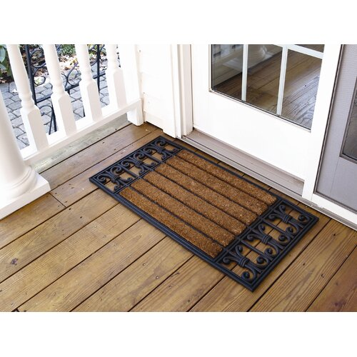 Design by AKRO Wrought Iron Cocoa Mat