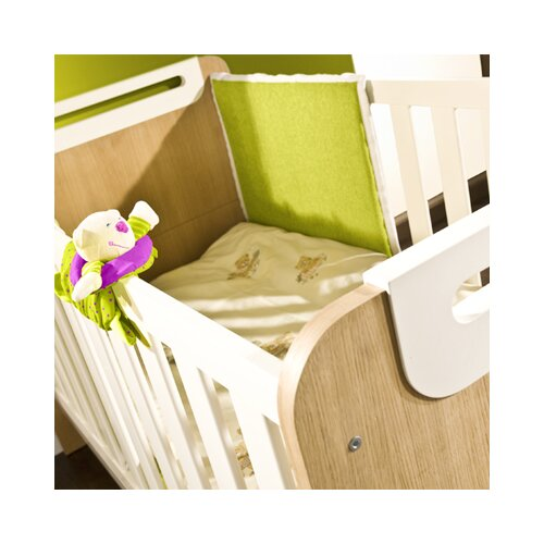 "Timoore Funktionales Kinderbett ""First"" in Creme / Eiche"