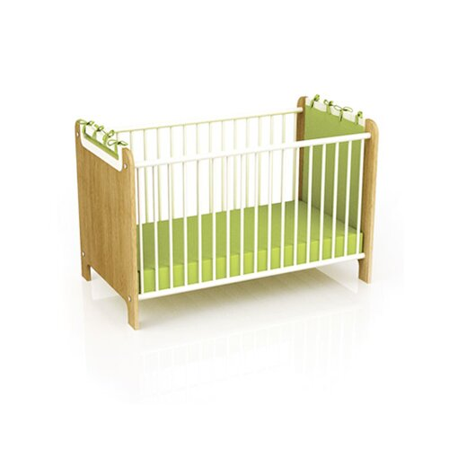 """Timoore Mobiles Kinderbett """"First"""" in Creme / Eiche"""