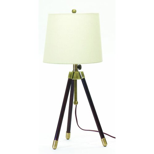 House of Troy Tripod 1 Light Table Lamp