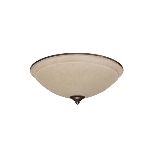 Ashton Wet Amber Mist Light Fixture