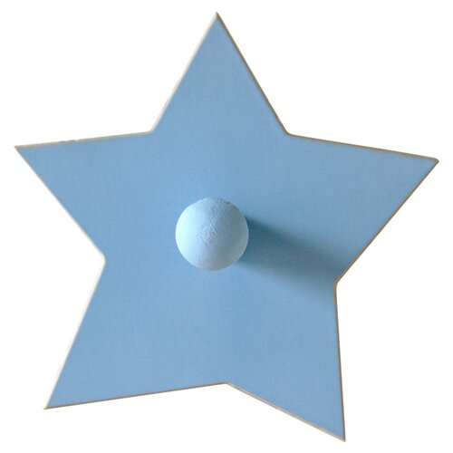 New Arrivals Hand Painted Star Peg Coat Hook