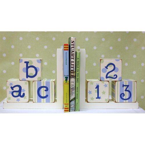 New Arrivals ABC 123 Book Ends