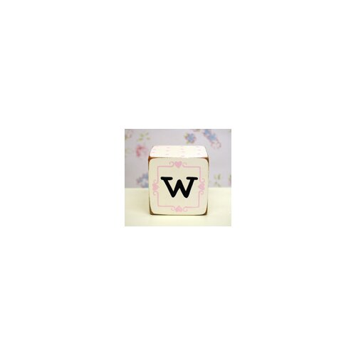 "New Arrivals ""w"" Letter Block"