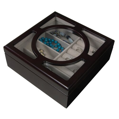 Mele & Co. Mia Windowed Jewelry Box