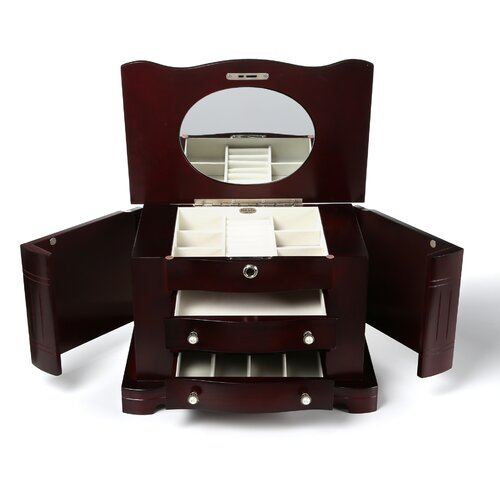Mele & Co. Rita Locking Jewelry Box