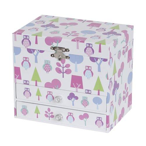 Macey Girl's Musical Ballerina Jewelry Box
