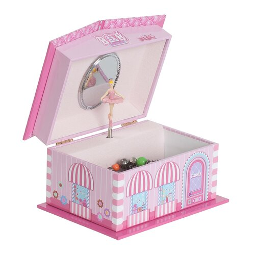 Mele & Co. Lily Girl's Musical Ballerina Jewelry Box