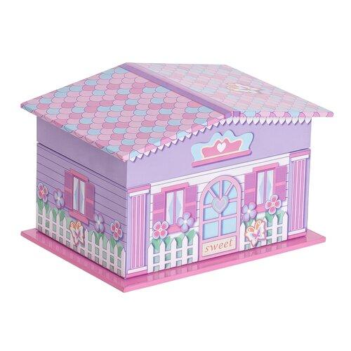Gabby Girl's Musical Ballerina Jewelry Box