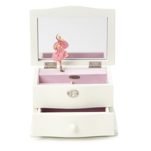 Mele & Co. Abigail Girl's Musical Ballerina Jewelry Box