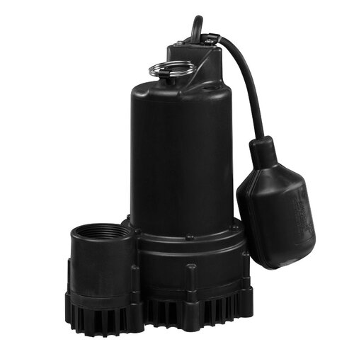 WAYNE 51 GPM Tether Float Switch Thermoplastic Sump Pump