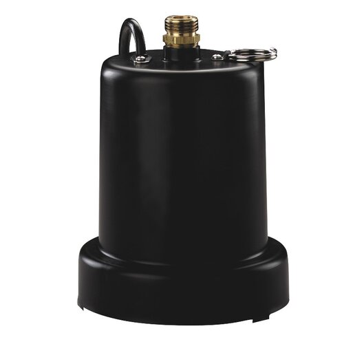 1/4 HP Heavy Duty Submersible Thermoplastic Utility Pump