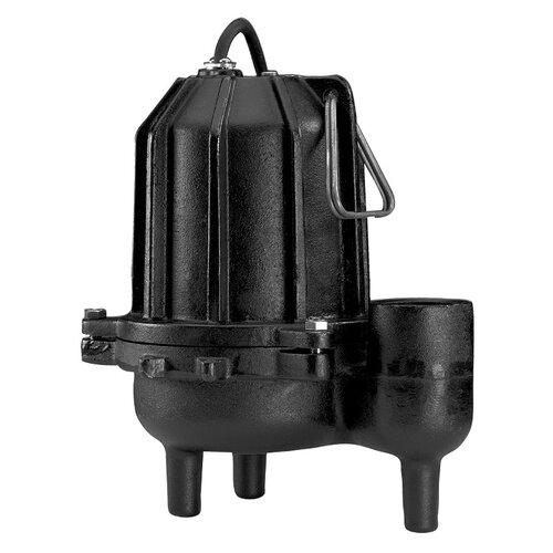 6/10 HP Manual Operation Cast-Iron Heavy Duty Sewage Pump
