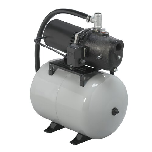WAYNE Shallow Well System with 8.5 Gallon Precharged Tank