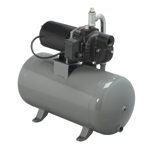 WAYNE 1/2 HP Shallow Well System with 12 Gallon Horizontal Conventional Tank