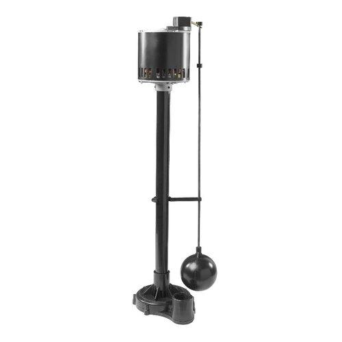 1/3 HP Thermoplastic Pedestal Pump