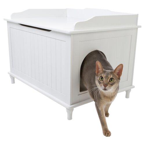 Decorative Litter Box: Designer Pet Products Litter Box Enclosure & Reviews