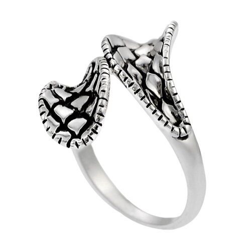 Skyline Silver Sterling Silver Wrap Ring