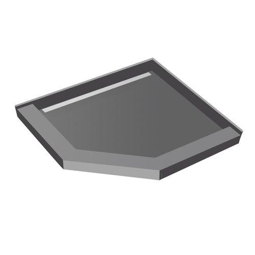 Swanstone Neo Angle Shower Base Amp Reviews Wayfair
