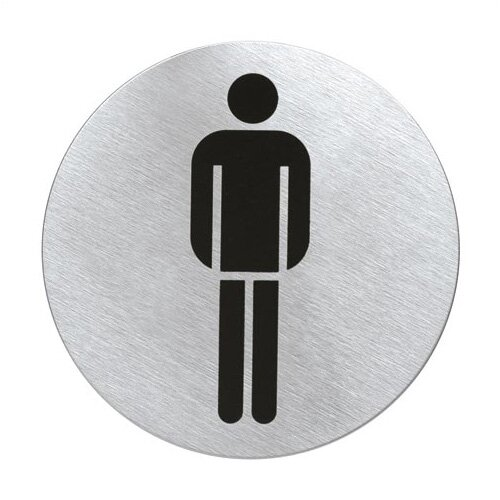 "Blomus Signo Door Plate ""Men's Room"""