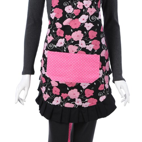 Flirty Aprons Women's Original Apron in Midnight Bloom