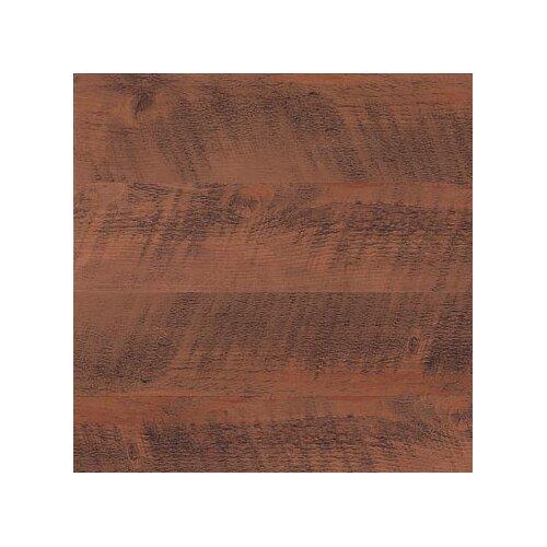 "Metroflor Metro Design Wood 4"" X 36"" Vinyl Plank in Saw Cut Dark"