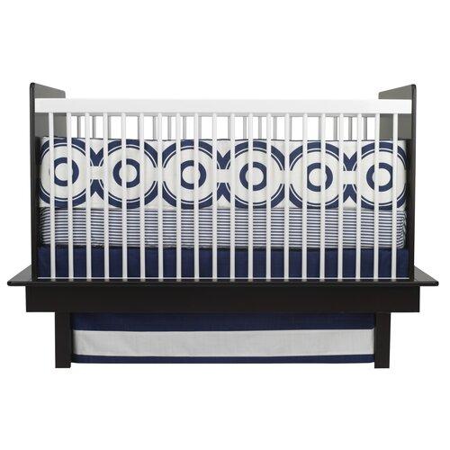 Oilo Wheels 3 Piece Crib Bedding Set
